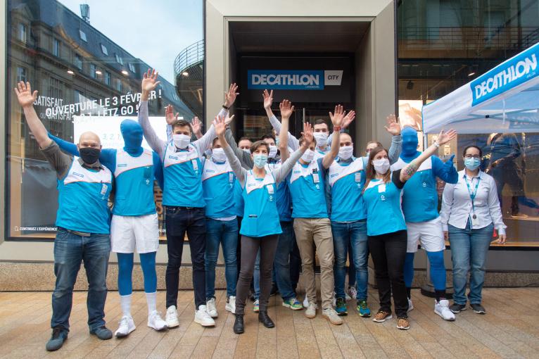 Decathlon United OneBlueDay in Luxembourg